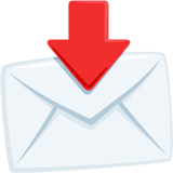 Envelope With Arrow on Messenger 1.0