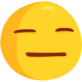 Expressionless Face on Messenger 1.0