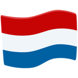 Flag: Netherlands on Messenger 1.0