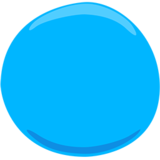 Blue Circle on Messenger 1.0