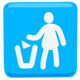 Litter in Bin Sign on Messenger 1.0