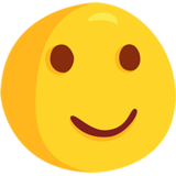 Slightly Smiling Face on Messenger 1.0