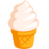 Soft Ice Cream Emoji On Messenger 10