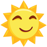 Sun with Face on Messenger 1.0