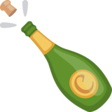 Bottle With Popping Cork on Facebook 2.0