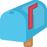 Closed Mailbox With Raised Flag on Facebook 2.0