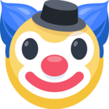 Clown Face on Facebook 2.0
