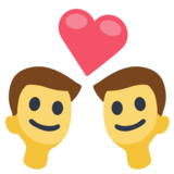 Couple with Heart: Man, Man on Facebook 2.0