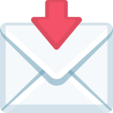 Envelope With Arrow on Facebook 2.0