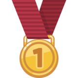 1st Place Medal on Facebook 2.0