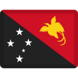 Flag: Papua New Guinea on Facebook 2.0