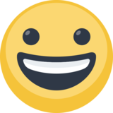 Grinning Face on Facebook 2.0