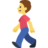 Image result for walk emoji