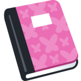 Notebook with Decorative Cover on Facebook 2.0