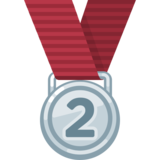 2nd Place Medal on Facebook 2.0