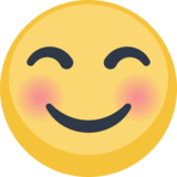 Smiling Face with Smiling Eyes on Facebook 2.0