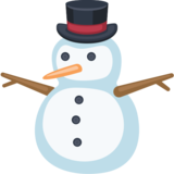 Snowman Without Snow on Facebook 2.0