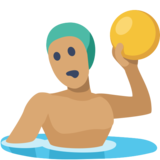 Person Playing Water Polo: Medium Skin Tone on Facebook 2.0