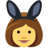 Women with Bunny Ears on Facebook 2.0