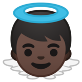 Baby Angel: Dark Skin Tone on Google Android 8.0