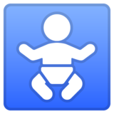 Baby Symbol on Google Android 8.0