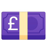 Pound Banknote on Google Android 8.0
