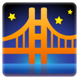 Bridge at Night on Google Android 8.0