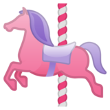 Carousel Horse on Google Android 8.0