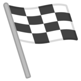 Chequered Flag on Google Android 8.0