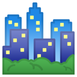 Cityscape on Google Android 8.0
