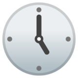Five O'Clock on Google Android 8.0
