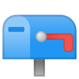Closed Mailbox with Lowered Flag on Google Android 8.0