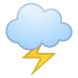 Cloud with Lightning on Google Android 8.0