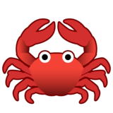 Crab on Google Android 8.0