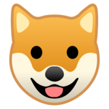 Dog Face on Google Android 8.0
