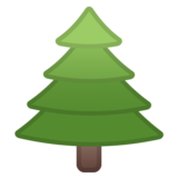 Evergreen Tree on Google Android 8.0