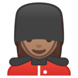 Woman Guard: Medium Skin Tone on Google Android 8.0