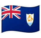 Flag: Anguilla on Google Android 8.0