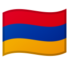 Flag: Armenia on Google Android 8.0