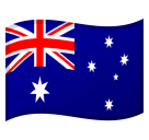 Flag: Australia on Google Android 8.0