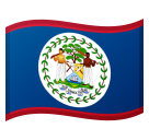 Flag: Belize on Google Android 8.0