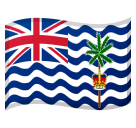Flag: British Indian Ocean Territory on Google Android 8.0