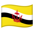Flag: Brunei on Google Android 8.0