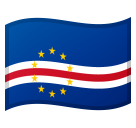 Flag: Cape Verde on Google Android 8.0
