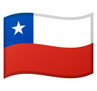 Flag: Chile on Google Android 8.0