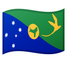 Flag: Christmas Island on Google Android 8.0