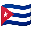 Flag: Cuba on Google Android 8.0