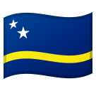Flag: Curaçao on Google Android 8.0