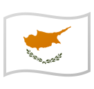 Flag: Cyprus on Google Android 8.0