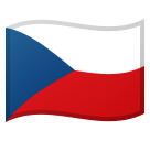 Flag: Czechia on Google Android 8.0